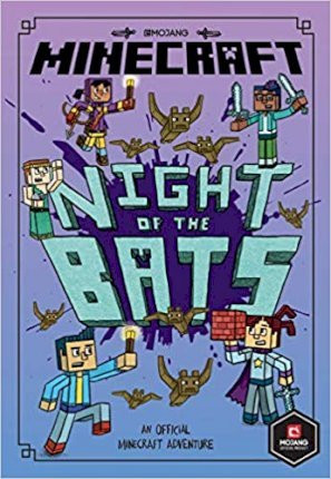 Night of the Bats! (Minecraft Woodsword Chronicles #2) (A Stepping Stone Book(TM))